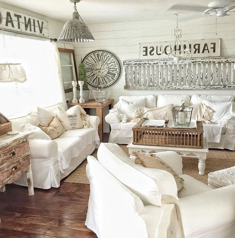 Home Design Ideas Classy: 12 Elegant Farmhouse Home Decor Ideas