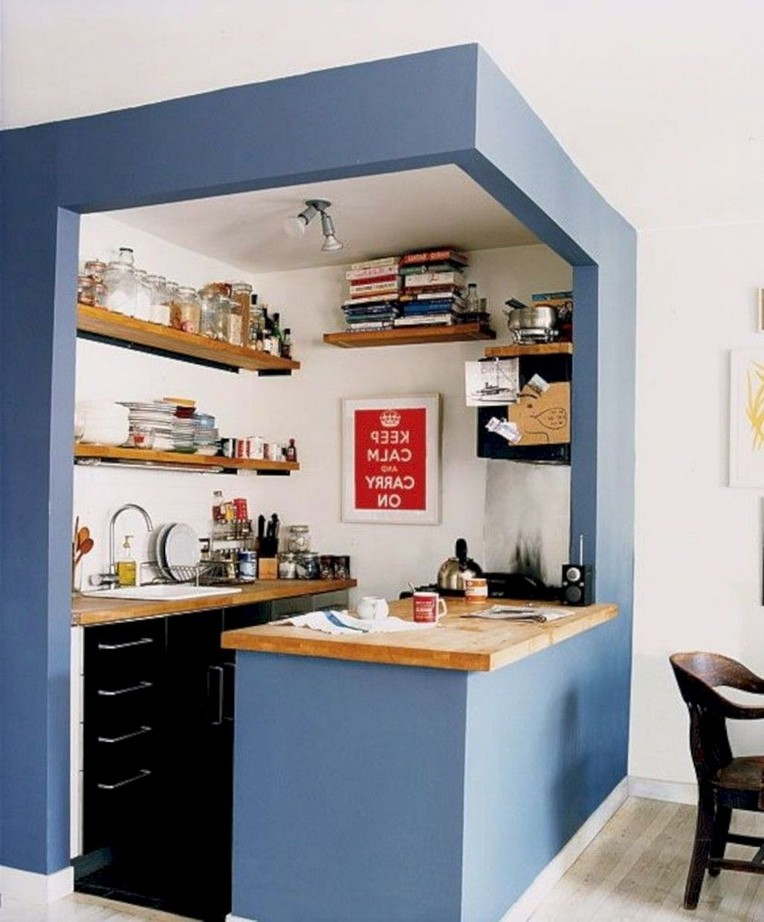 40 Small Kitchen Design Ideas: 40+ Best First Apartment Small Kitchen Bar Design Ideas