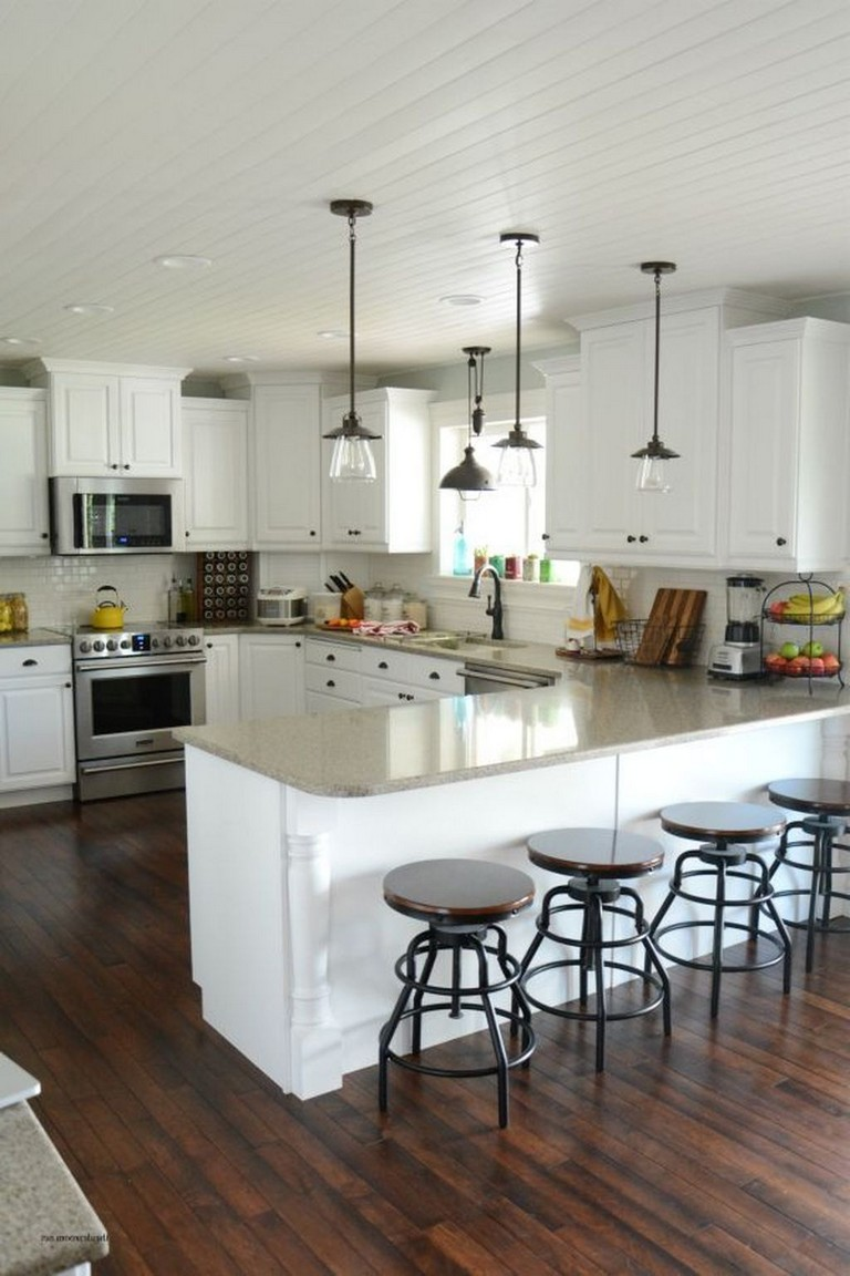 35+ Perfect White Kitchen Cabinets For Your Kitchen - Page ...