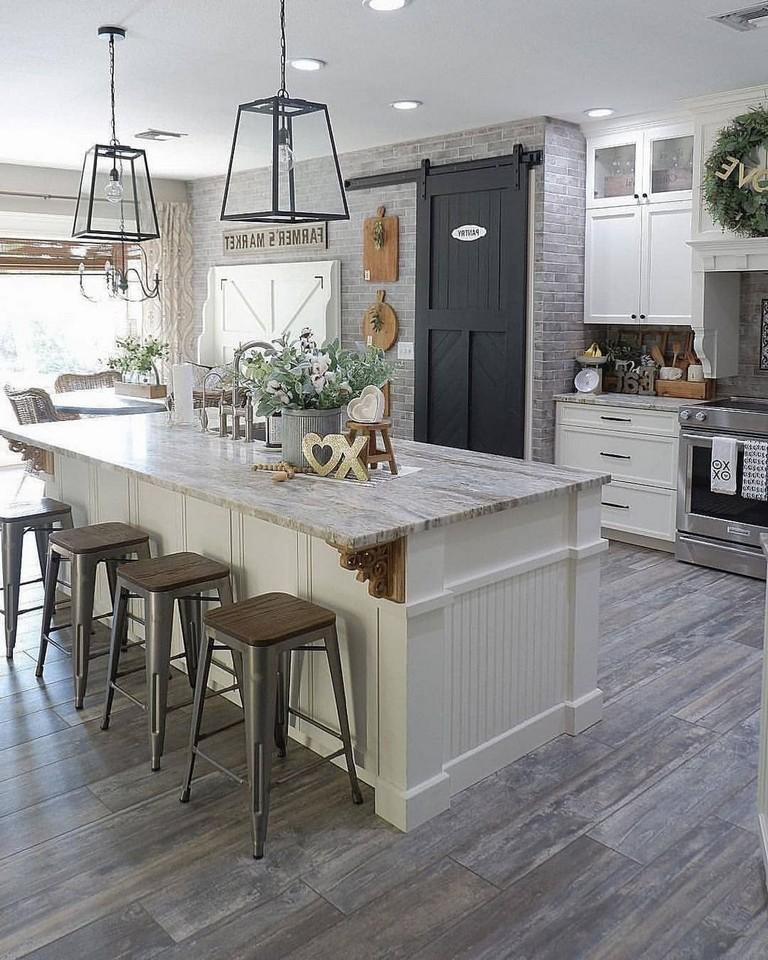 47+ Amazing Diy Farmhouse Decorating Ideas For Kitchen ...