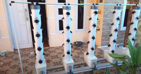 Keranjang Hidroponik DIY